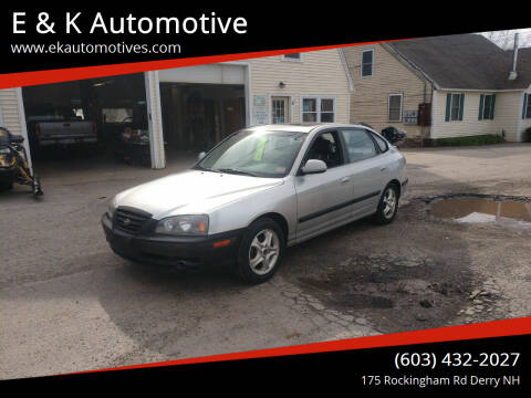 2006 Hyundai Elantra for sale at E & K Automotive in Derry NH