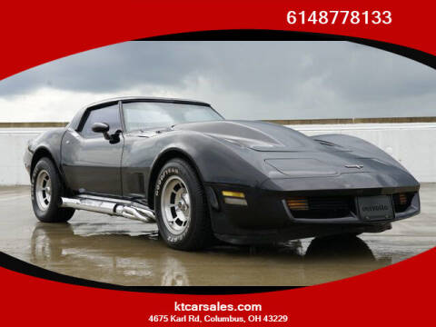 1980 Chevorlet Corvette for sale at K & T CAR SALES INC in Columbus OH