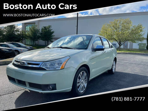 2010 Ford Focus for sale at Boston Auto Cars in Dedham MA