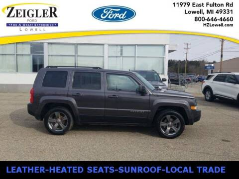2014 Jeep Patriot for sale at Zeigler Ford of Plainwell- Jeff Bishop in Plainwell MI