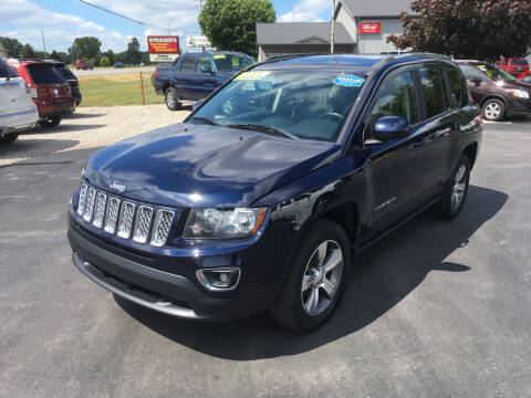 2016 Jeep Compass for sale at JACK'S AUTO SALES in Traverse City MI