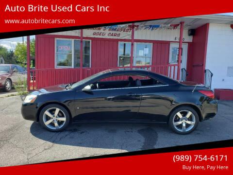 2006 Pontiac G6 for sale at Auto Brite Used Cars Inc in Saginaw MI