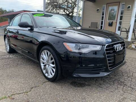 2014 Audi A6 for sale at G & G Auto Sales in Steubenville OH
