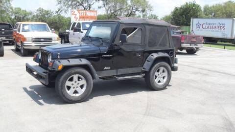 1999 Jeep Wrangler for sale at 277 Motors in Hawley TX