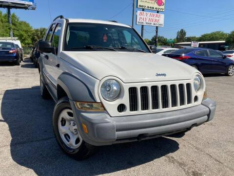 2005 Jeep Liberty for sale at Mars auto trade llc in Kissimmee FL