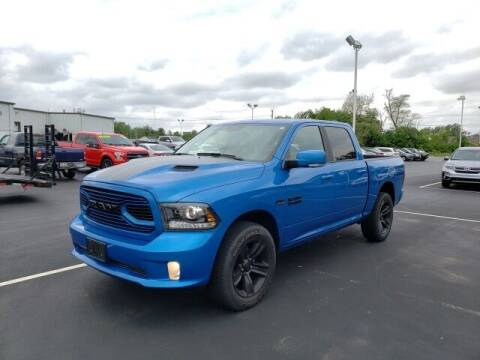 2018 RAM Ram Pickup 1500 for sale at White's Honda Toyota of Lima in Lima OH
