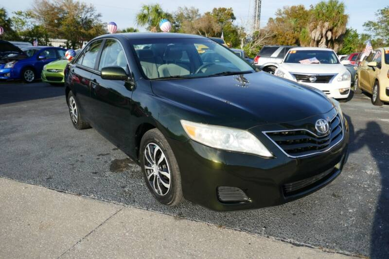 2010 Toyota Camry for sale at J Linn Motors in Clearwater FL