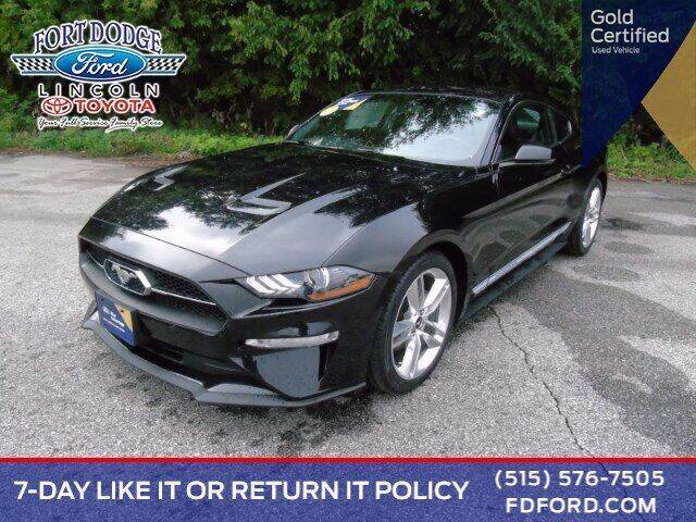 2019 Ford Mustang for sale at Fort Dodge Ford Lincoln Toyota in Fort Dodge IA