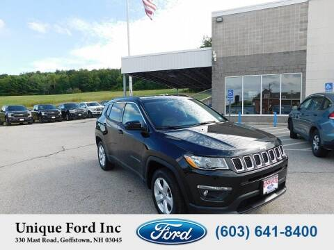 2018 Jeep Compass for sale at Unique Motors of Chicopee - Unique Ford in Goffstown NH