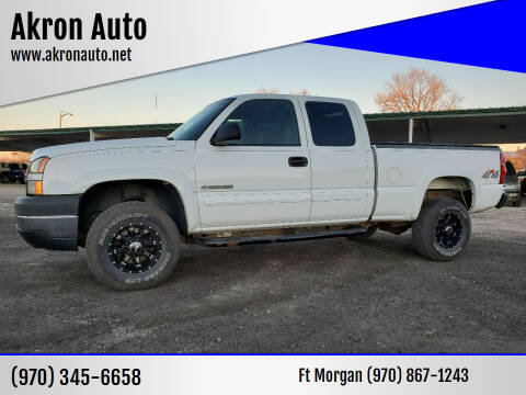 2006 Chevrolet Silverado 2500HD for sale at Akron Auto in Akron CO