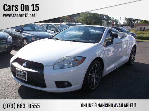 2011 Mitsubishi Eclipse Spyder for sale at Cars On 15 in Lake Hopatcong NJ