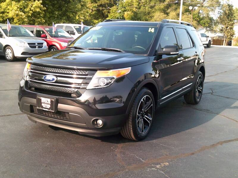 2014 Ford Explorer for sale at Stoltz Motors in Troy OH