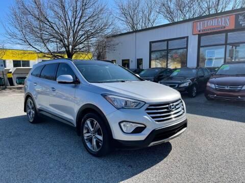 2014 Hyundai Santa Fe for sale at Autohaus of Greensboro in Greensboro NC