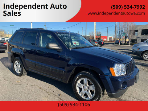 2006 Jeep Grand Cherokee for sale at Independent Auto Sales in Spokane Valley WA