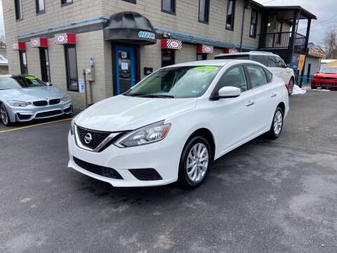 2019 Nissan Sentra for sale at Sisson Pre-Owned in Uniontown PA
