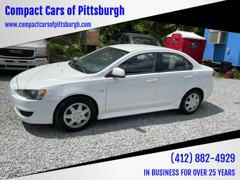 2013 Mitsubishi Lancer for sale at Compact Cars of Pittsburgh in Pittsburgh PA