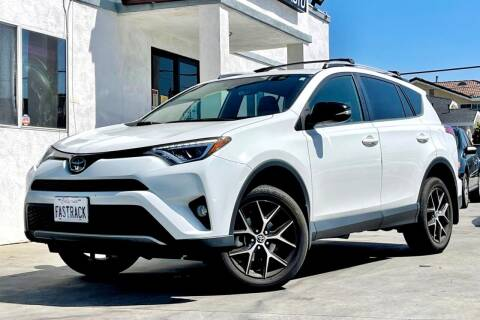 2018 Toyota RAV4 for sale at Fastrack Auto Inc in Rosemead CA