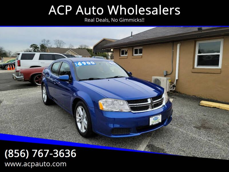 2012 Dodge Avenger for sale at ACP Auto Wholesalers in Berlin NJ