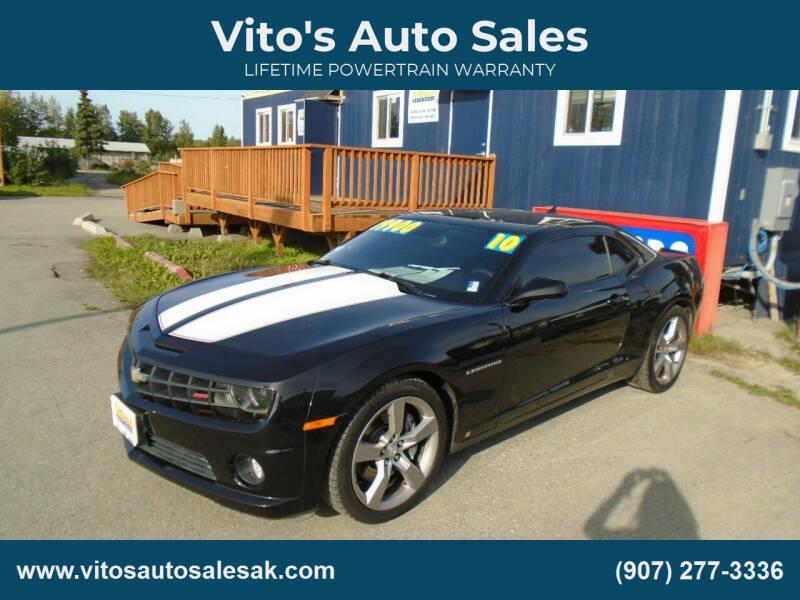 2010 Chevrolet Camaro for sale at Vito's Auto Sales in Anchorage AK