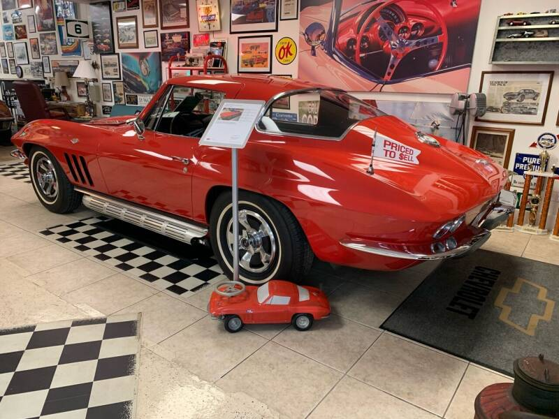 1966 Chevrolet Corvette for sale at A & A Classic Cars in Pinellas Park FL