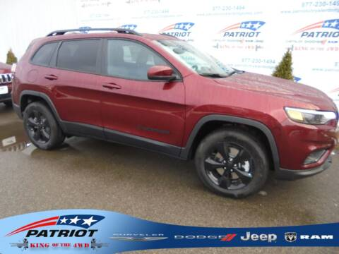 2021 Jeep Cherokee for sale at PATRIOT CHRYSLER DODGE JEEP RAM in Oakland MD