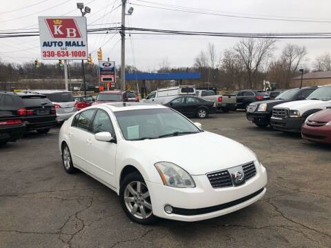 2004 Nissan Maxima for sale at KB Auto Mall LLC in Akron OH