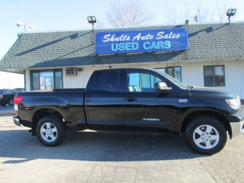 2012 Toyota Tundra for sale at SHULTS AUTO SALES INC. in Crystal Lake IL
