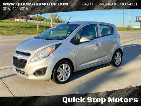 2013 Chevrolet Spark for sale at Quick Stop Motors in Kansas City MO