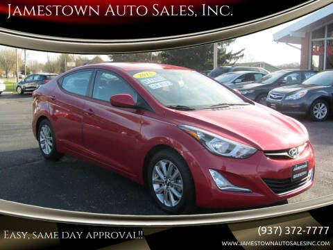 2015 Hyundai Elantra for sale at Jamestown Auto Sales, Inc. in Xenia OH