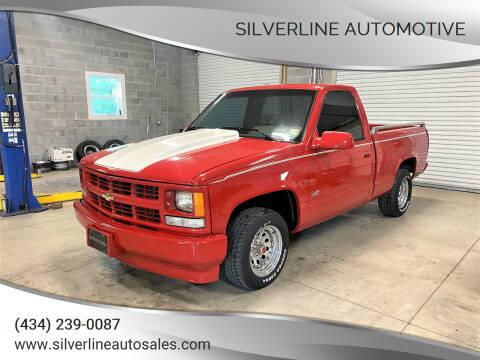 1994 Chevrolet C/K 1500 Series for sale at Silverline Automotive in Lynchburg VA