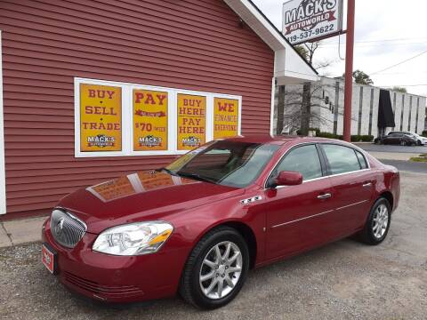 2008 Buick Lucerne for sale at Mack's Autoworld in Toledo OH