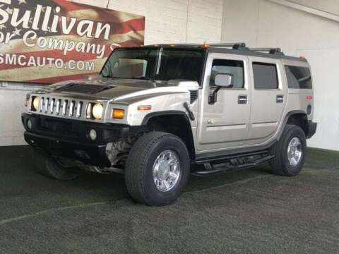2003 HUMMER H2 for sale at SULLIVAN MOTOR COMPANY INC. in Mesa AZ