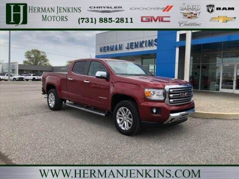 2017 GMC Canyon for sale at Herman Jenkins Used Cars in Union City TN