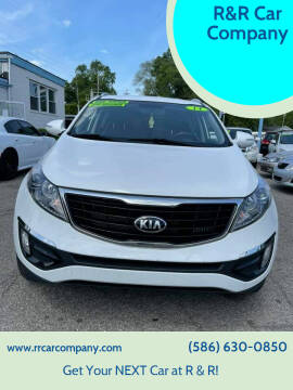 2014 Kia Sportage for sale at R&R Car Company in Mount Clemens MI