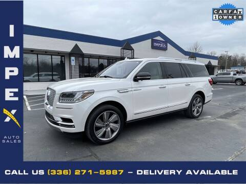 2018 Lincoln Navigator L for sale at Impex Auto Sales in Greensboro NC