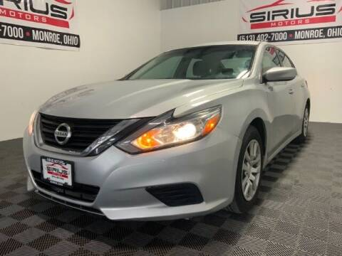 2017 Nissan Altima for sale at SIRIUS MOTORS INC in Monroe OH