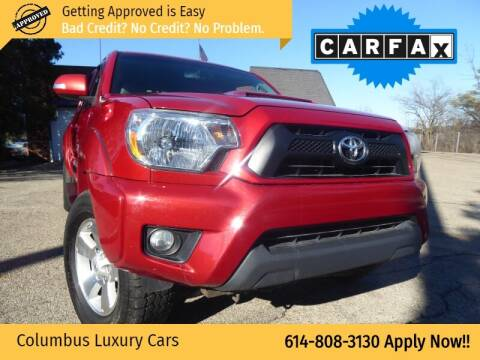 2013 Toyota Tacoma for sale at Columbus Luxury Cars in Columbus OH