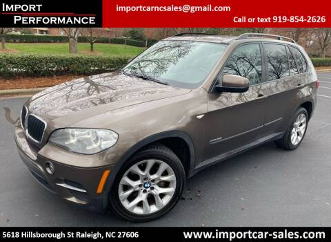 2012 BMW X5 for sale at Import Performance Sales in Raleigh NC