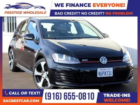 2015 Volkswagen Golf GTI for sale at Prestige Wholesale in Sacramento CA