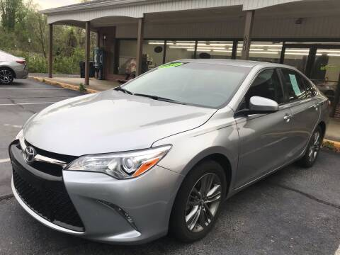 2017 Toyota Camry for sale at Scotty's Auto Sales, Inc. in Elkin NC