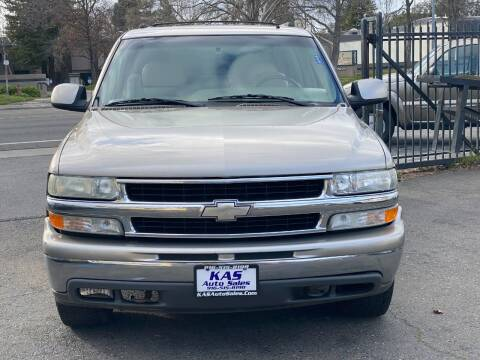 2002 Chevrolet Suburban for sale at KAS Auto Sales in Sacramento CA