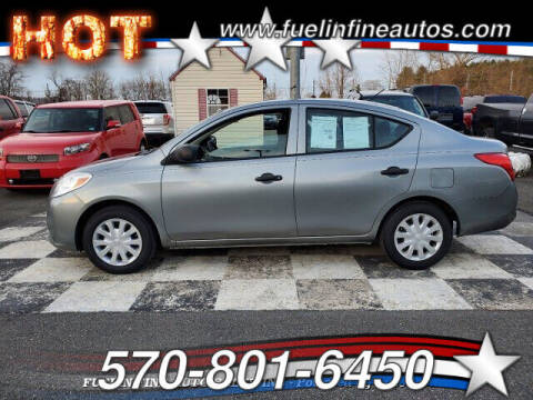 2013 Nissan Versa for sale at FUELIN FINE AUTO SALES INC in Saylorsburg PA
