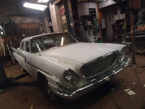1961 Chrysler Newport for sale at Marshall Motors Classics in Jackson MI
