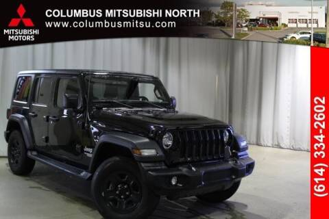 2018 Jeep Wrangler Unlimited for sale at Auto Center of Columbus - Columbus Mitsubishi North in Columbus OH