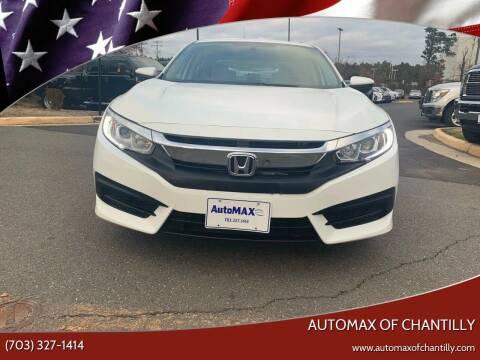2018 Honda Civic for sale at Automax of Chantilly in Chantilly VA
