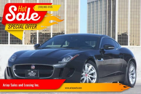 2015 Jaguar F-TYPE for sale at Ariay Sales and Leasing Inc. - Pre Owned Storage Lot in Glendale CO