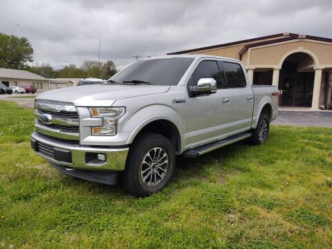 2017 Ford F-150 for sale at KW TRUCKING OF KS in Saint Paul KS