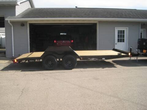 2021 Liberty 83 IN X 18 FT CAR TRAILER for sale at G T AUTO PLAZA Inc in Pearl City IL