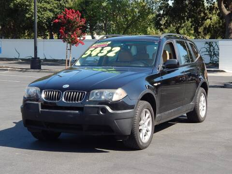 2005 BMW X3 for sale at Gilroy Motorsports in Gilroy CA