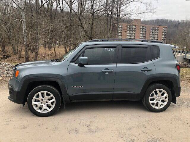 2017 Jeep Renegade for sale at WESTON FORD  INC in Weston WV